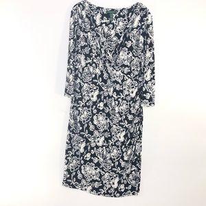 Lauren Ralph Lauren | Floral Empire Waist Dress